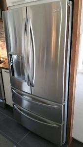Réfrigérateur LG 36 pouces. Ne refroidit pu.