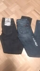 NEW womens silver jeans 40. a pair or obo