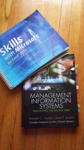 ITM102- Management Information Systems 7th ed & Excel book