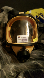 breathing apparatus face mask etc