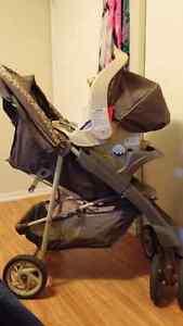 Graco travel system stroller and car seat