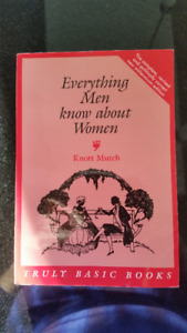 Everything Men Know about Women  by Knott Mutch Mint Condition