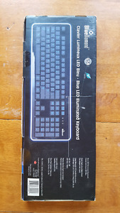 Blue Diamond Illuminated Keyboard