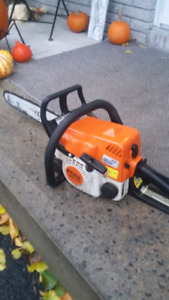 Stihl MS 170 chainsaw 16 inch