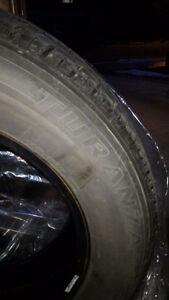 Bridgestone Turanza All Season Tires >=50% tread left
