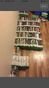HUGE LOT OF VIDEO GAMES & CONSOLES - XBOX PLAYSTATION WII