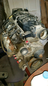 All aluminum 5.3L engine with 243 Ls6 heads