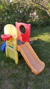 Toddler climber with slide