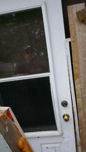 Insulated exterior door