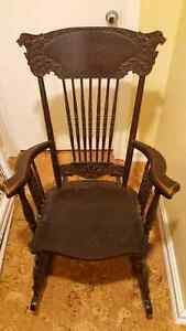 Antique rocking chair Cambridge Kitchener Area image 1