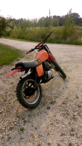 1980 Honda xr250 REDUCED