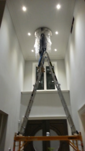 Chandelier and Appliance Installation