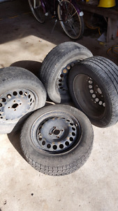 Tires with rims $450 O.B.O