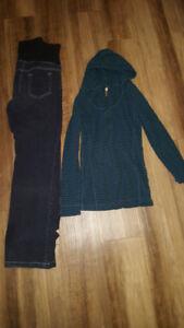Medium size maternity clothes