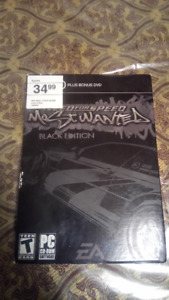 PC game: Need For Speed (Most Wanted - Black Edition)