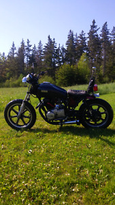 1979 customYamaha XS400 bobber/chopper
