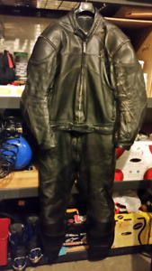 Teknic leather motorcycle suit