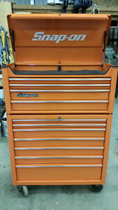 Electric Orange Snap-on Tool Box