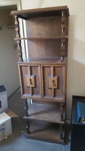 Antique/Vintage Wood Display Case