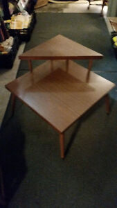 Vintage Formica Two Tiered end table