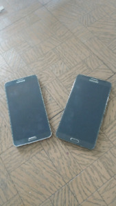 2 Samsung Galaxy Note 3s (FOR THE PRICE OF 1)