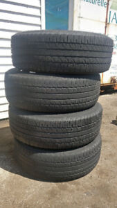 All season tires - used (no rims) (Saint John, Millidgeville)