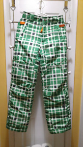 Kids Snow Pants size large in excellent condition