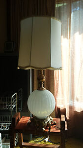 pair of solid lamps