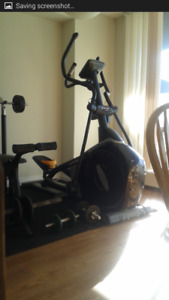 Top of the line exercise equipment for sale...good price