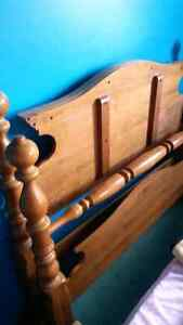 Antique bed frame fits double bed Kitchener / Waterloo Kitchener Area image 4