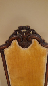 Antique Carved Oak Chair