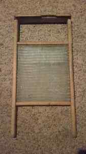 Antique glass washboard London Ontario image 3