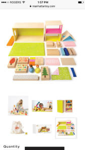 New Manhattan Toy Company wooden doll house