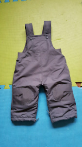 Unisex snow pants size 6 to 12 months