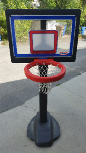 Kids basketball net.