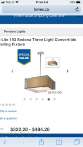 Convertible light fixture,