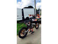 BARGAIN £1800 no offers! 09 Ktm 125sx, faultless bike !