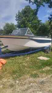 18 Ft boat with 85 Evinrude