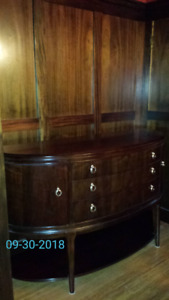 Beautiful ($4600) solid wood credenza by Thomasville