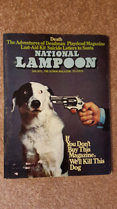 National Lampoon Humour magazines
