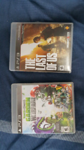 PS3 WITH CONTROLLER AND 2 GAMES