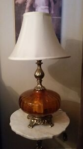 Many Antique Lamps & collectable- Wing Chairs