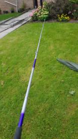 Olimpic telescopic fishing rod