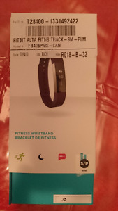 Fitbit Alta Plum Size Small Sealed in Box Brand New