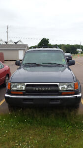 1994 Toyota Land Cruiser SUV, AWD and 4 dr