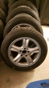 """16"""" rim and winter tires in good shape"""