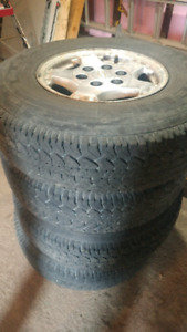 Chevy\gmc truck rims and tires
