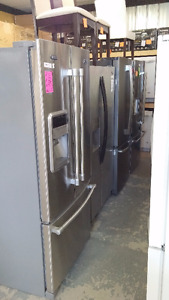 Stainless Fridges – Liquidation Priced – We Pay the HST!