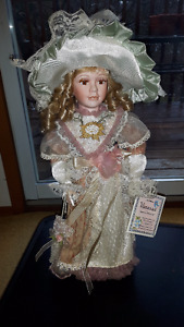 VANESSA PORCELAIN DOLL, of VANESSA DOLL COLLECTION, 2004