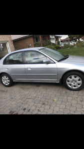 2002 Honda Civic Sedan etested